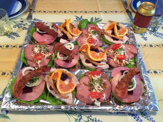 frokost til gæster